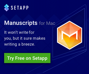 Set App Manuscripts for Mac